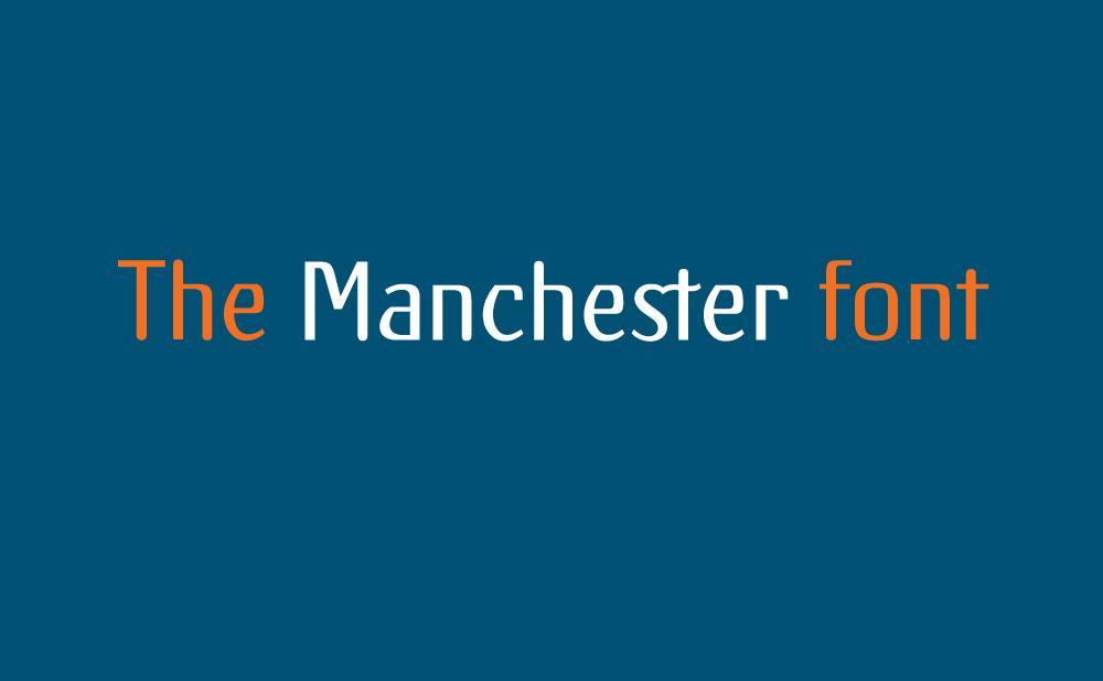 3 Manchester font